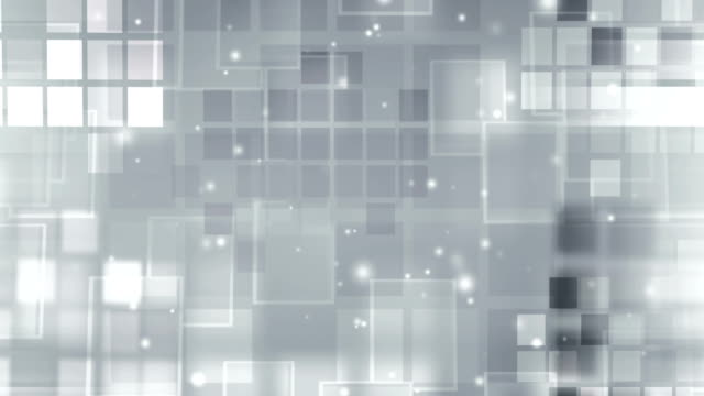 Silver Glowing  Blocks Loop with particles video