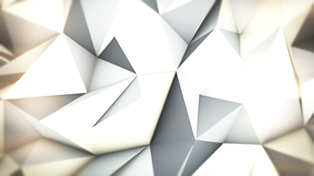 Silver loopable triangles video background video