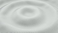 Silver ripples made of shiny spheres. video