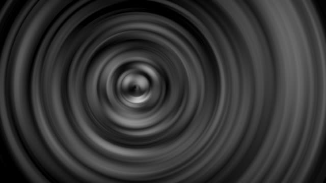 Silver rotating spiral moving around Different patterns Abstract art Backgrounds video