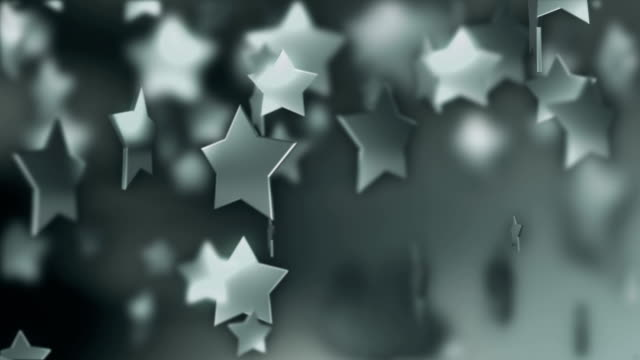 Silver Star Particle Background video