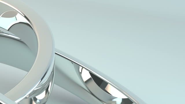 Silver Wedding Rings. video