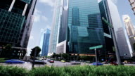 Singapore business district video