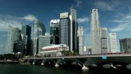 Singapore City Skyline Financial District video