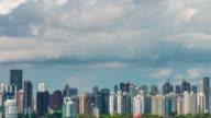 Singapore city skyline Time-lapse photography video