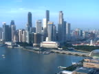 Singapore: Cityscape and Old Post Office video