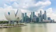 Singapore Cityscape at marina bay video