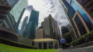 Singapore Cityscape Office Background. video
