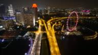 Singapore flyer video