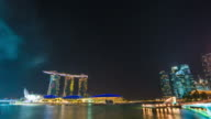 Singapore National Day dress rehearsal Sands Hotel fireworks video