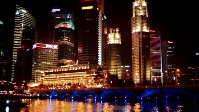 Singapore night video