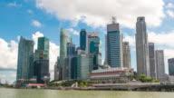 Singapore of the marina bay video