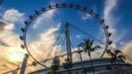 Singapore skyline video