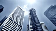 Singapore skyscrapers video