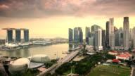 Singapore Sunset Time Lapse video