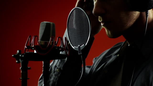 Singer and Microphone video