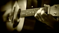 Singer-songwriter (bard). Acoustic Guitar Strings chord Training Practice video