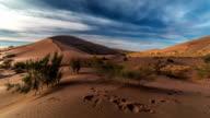 Singing Dunes in desert national park Altyn-Emel, Kazakhstan video