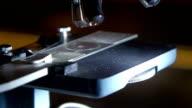 A single microscope in a science fair video