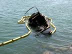 Sinking Boat, Debris Zoom In video