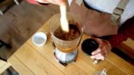 Siphon Coffee Preparation Process video