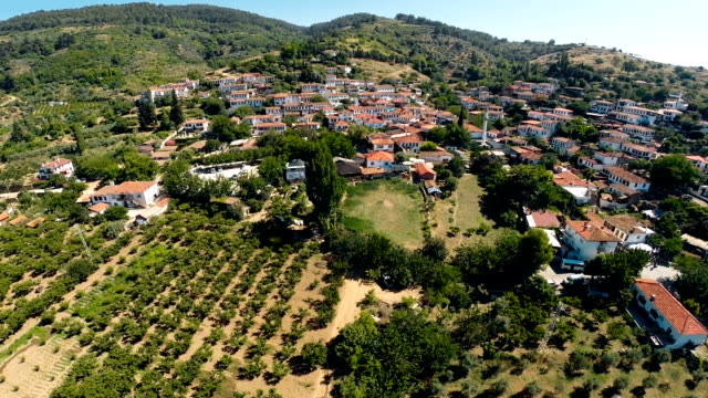 Sirince mountain town in Turkey video