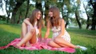 Sisters enjoy beautiful day video