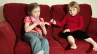 Sisters fighting video