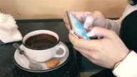 Six time lapse videos of woman using phone in 4K video