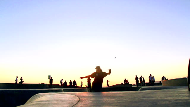 VARI FRAME RATE - Skateboard in Venice video