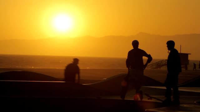 Skatepark Silhouette video