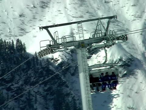 Ski lift video
