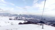 Ski lift. video