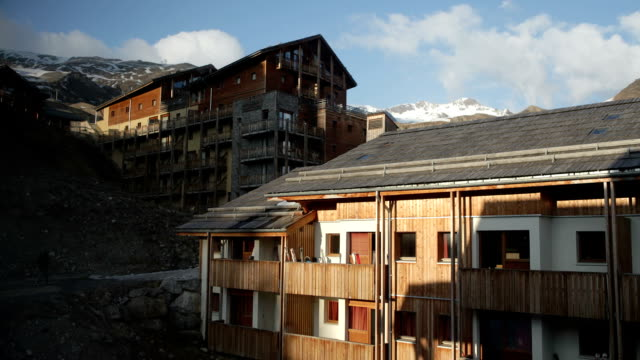 Ski Resort Timelapse - HD video