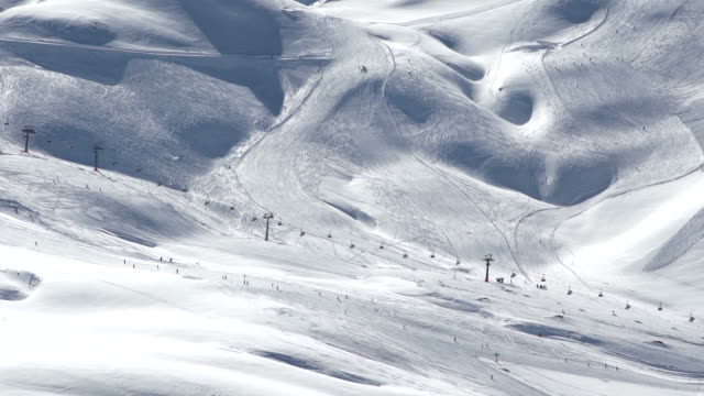 Ski slope video