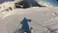 Skiing video