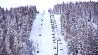 Ski-lift timelapse video