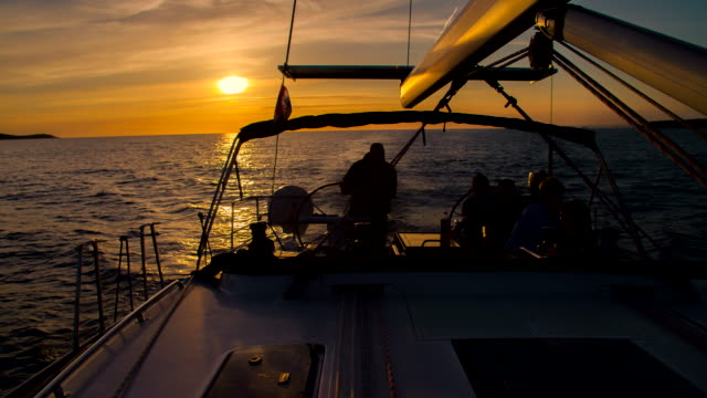 WS Skipper Navigating A Sailboat video