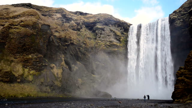Skogafoss Waterfall, Iceland, Europe video