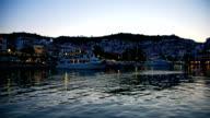 Skopelos town, Skopelos island, Greece video