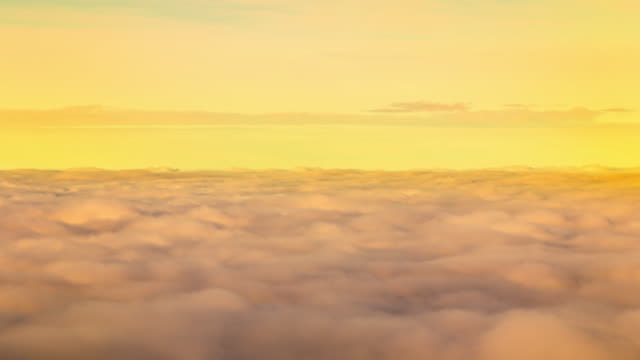 Sky and Moving sunrise clouds Timelapse video