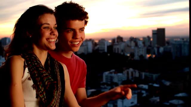 Sky Couple Portrait video