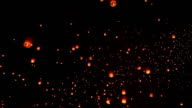 Sky Lantern Traditional Festival. video
