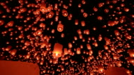 Sky Lantern with Pan and Tilt video