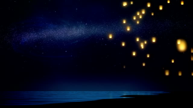 Sky lanterns video