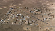 Sky Ranch Estate On Border With California  - Aerial View - Nevada,  Clark County,  United States video