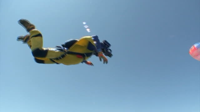 Skydiving video. Tandem. video