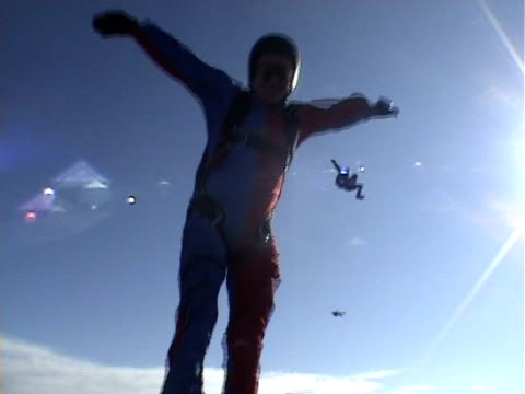 Skydiving video video