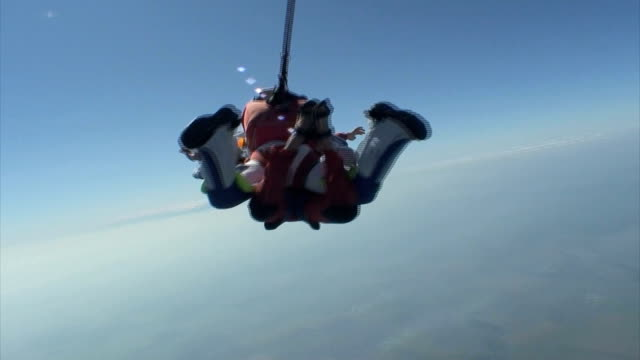 Skydiving video. video