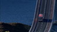 Skye Bridge  - Aerial View - Scotland, Highland, United Kingdom video